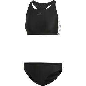 adidas Fit 3S Infinitex Bañadores Mujer, negro